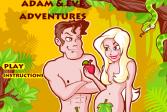 Играть Приключения Адама и Евы онлайн флеш игра для детей