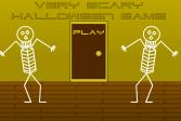 Играть Очень страшный Хэллоуин онлайн флеш игра для детей