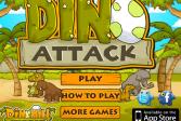 Играть Атака Дино онлайн флеш игра для детей