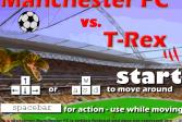 Играть Манчестер против Рекса онлайн флеш игра для детей