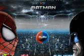 Играть Человек-паук против Бэтмена онлайн флеш игра для детей