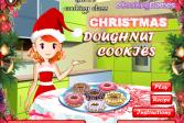 Играть Приготовление рождественских пончиков онлайн флеш игра для детей