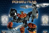 Играть Лего: Минифигурки - Бионикл онлайн флеш игра для детей
