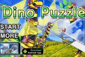 Играть Дино паззл онлайн флеш игра для детей