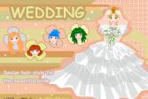 Играть Парикмахер невесты онлайн флеш игра для детей