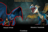 Играть Игры всадники и драконы Олуха: Приручить дракона онлайн флеш игра для детей
