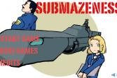 Играть Опасная субмарина онлайн флеш игра для детей