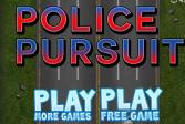 Играть Полицейское преследование онлайн флеш игра для детей