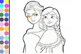 Играть Принцесса Анна и Эльза онлайн флеш игра для детей