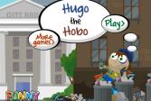 Играть Бомж по имени Хуго онлайн флеш игра для детей