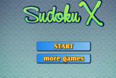 Играть Судоку Х онлайн флеш игра для детей