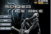 Играть Человек-паук: Ледяной мотоцикл онлайн флеш игра для детей