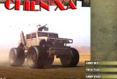 Играть Гонка на военной колеснице онлайн флеш игра для детей
