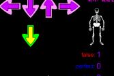 Играть Танцующий скелет онлайн флеш игра для детей