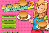 Играть Бургер - ресторан 2 онлайн флеш игра для детей