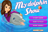Играть Мое представление дельфина онлайн флеш игра для детей