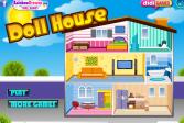 Играть Обставляем кукольный домик онлайн флеш игра для детей