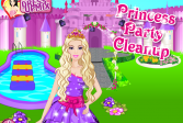 Играть Делаем уборку с принцессой онлайн флеш игра для детей