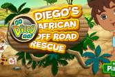 Играть Диего Спасатель Африки онлайн флеш игра для детей