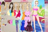 Играть Барби: Наряд для чаепития онлайн флеш игра для детей