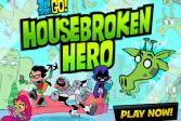 Играть Юные Титаны Вперед! Адаптироваться к герою онлайн флеш игра для детей