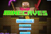 Играть Майнкрафт: Пещеры онлайн флеш игра для детей