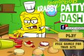 Играть Губка Боб на работе онлайн флеш игра для детей