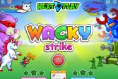 Играть Необычный удар онлайн флеш игра для детей