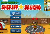 Играть Амиго Панчо 3: Шериф Санчо онлайн флеш игра для детей