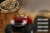 Играть Монстр трак разрушитель онлайн флеш игра для детей