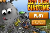 Играть Съедобная планета: Динотайм онлайн флеш игра для детей