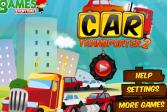 Играть Автомобильный транспортер 2 онлайн флеш игра для детей