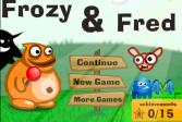Играть Фрози и Фред онлайн флеш игра для детей