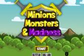 Играть Миньоны, монстры, и безумие онлайн флеш игра для детей