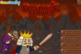 Играть Демонический цветок онлайн флеш игра для детей
