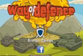 Играть Способ защиты онлайн флеш игра для детей