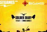 Играть Дневник солдата онлайн флеш игра для детей
