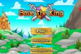 Играть Спаси короля онлайн флеш игра для детей