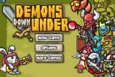 Играть Прогоните демонов онлайн флеш игра для детей
