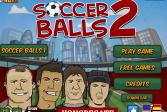 Играть Футбольные мячи 2 онлайн флеш игра для детей