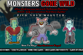 Играть Монстры в ночном клубе онлайн флеш игра для детей