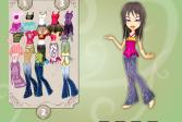 Играть Одень Братц онлайн флеш игра для детей