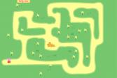 Играть Свинка Пеппа лабиринт онлайн флеш игра для детей