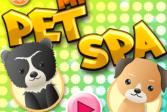 Играть Спа салон для зверюшек онлайн флеш игра для детей