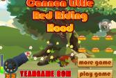 Играть Пушка красной шапочки онлайн флеш игра для детей