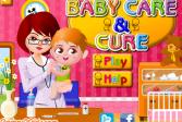 Играть Уход за младенцами онлайн флеш игра для детей