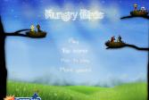 Играть Голодные птицы злые птицы онлайн флеш игра для детей