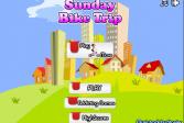 Играть Прогулка Сенди на велосипеде онлайн флеш игра для детей