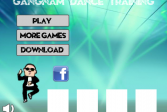 Играть Гангнам танец онлайн флеш игра для детей
