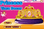 Играть Принцесса Тиара декор онлайн флеш игра для детей